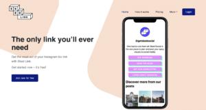 Sked Link - l'alternative à linktree sur Instagram