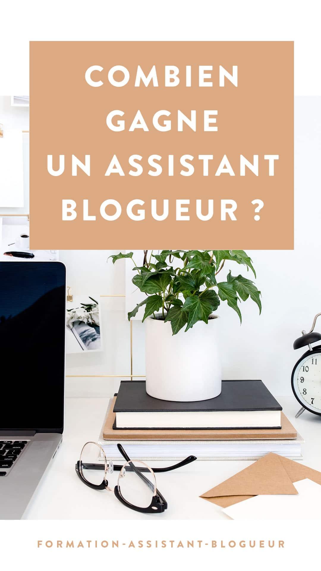 Combien gagne un assistant blogueur ?