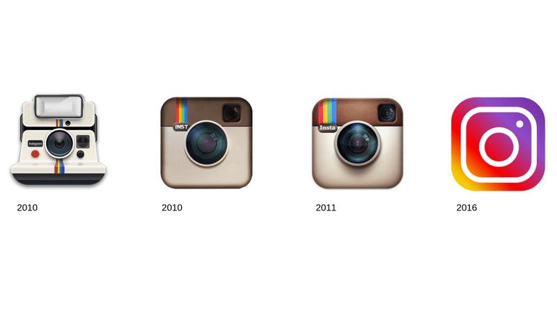 exemple de logo qui évolue
